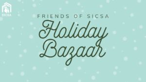 Friends of SICSA Holiday Bazaar @ SICSA Pet Adoption and Wellness Center